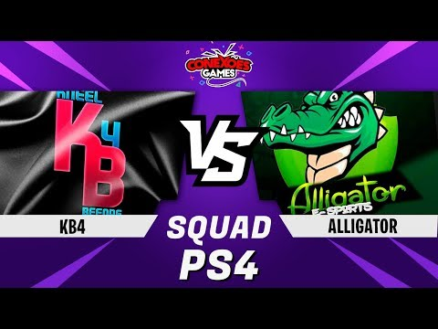 KB4 vs ALLIGATORS - TORNEIO SQUAD PS4 -  FINAL