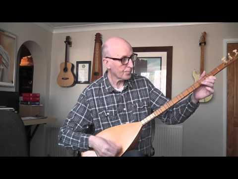 Norwegian Wood - played on a saz