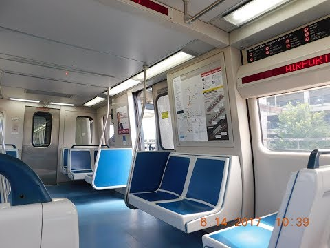 🚇/💺 MARTA: Atlanta Subway (Gold & Red Lines) -- FULL RIDE!