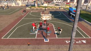 PS4 NBA 2K14: How To Catch Alley-Oops At The Park - Xbox One/PS4 Tutorial