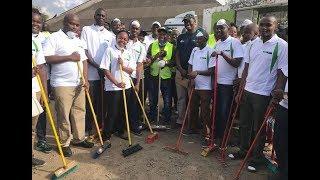 Uhuru Market Clean-up exercise led by Nairobi Governor Mike Sonko