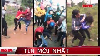Xác minh các nữ sinh đánh nhau, tung clip lên mạng xã hội