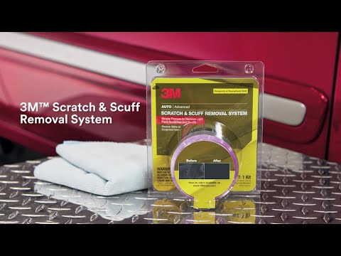 Car Scratch Remover in one Easy Kit from 3M