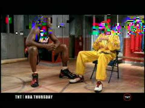 Ali G interviews Shaquille O'Neal