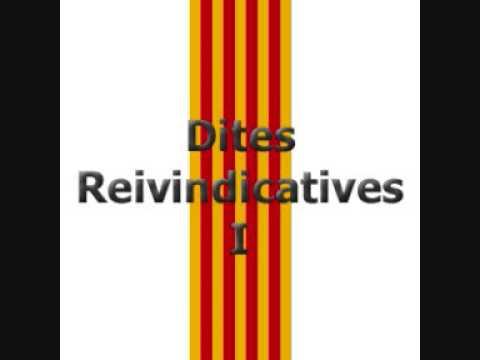Dites catalanes reivindicatives
