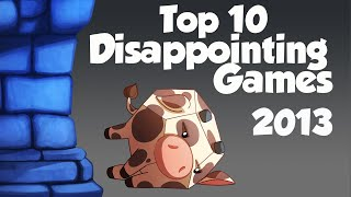 Top 10 Disappointing Games