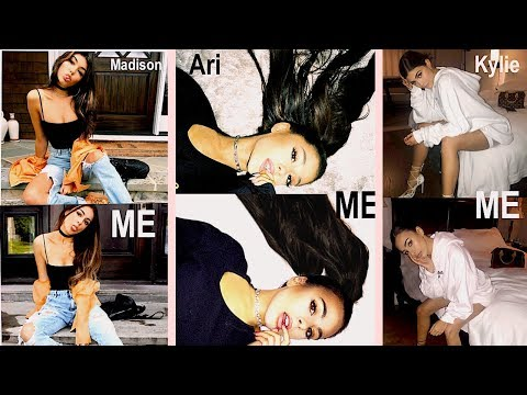 RECREATING Madison Beer, Ariana Grande & Kylie Jenner's INSTAGRAM PICS! // Emilie Maggie
