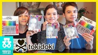 CUSTOM TOKIDOKI DIY ADIOS CHALLENGE! |  KITTIESMAMA