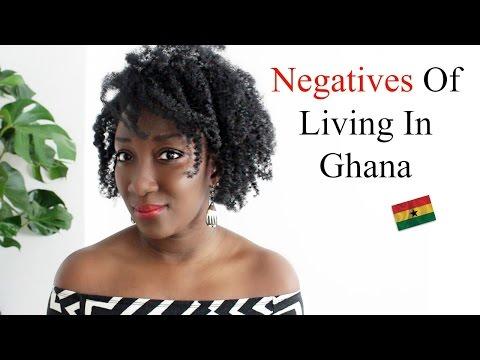 NEGATIVES OF LIVING IN GHANA || ADEDE