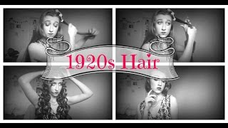 1920s Hairstyle For Long Hair