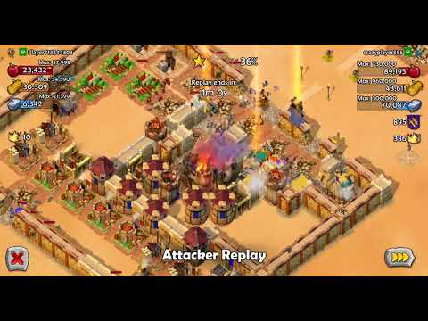 Awesome Age of Empires Castle Siege Conrad and Joan of Arc battle