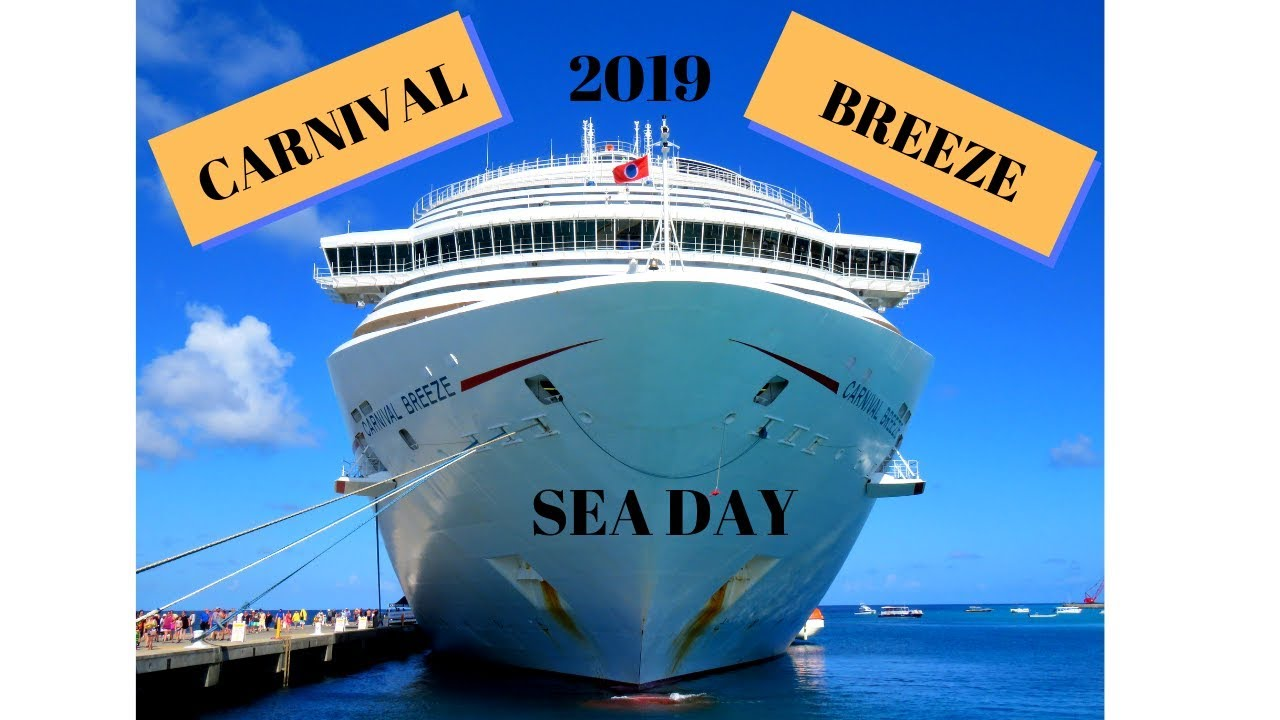 Carnival Breeze 2019 Day 1 Embarkation Youtube