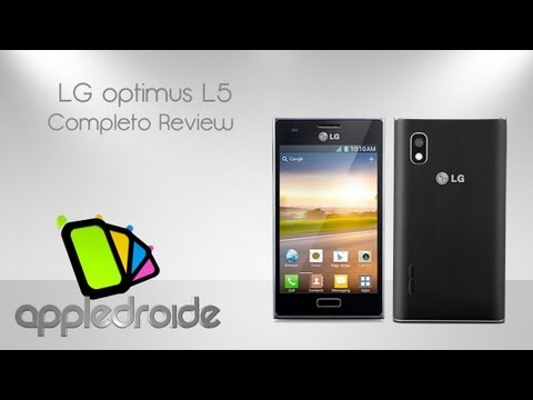 LG optimus L5 completo análisis en español