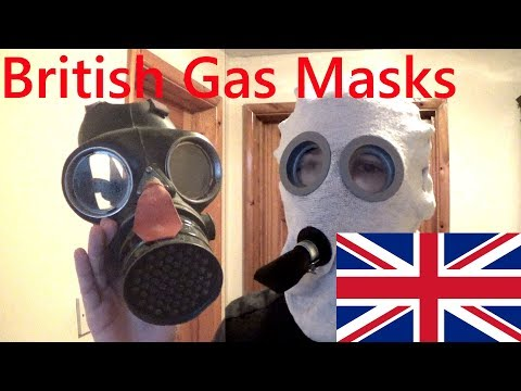 My British Gas Mask/Respirator collection