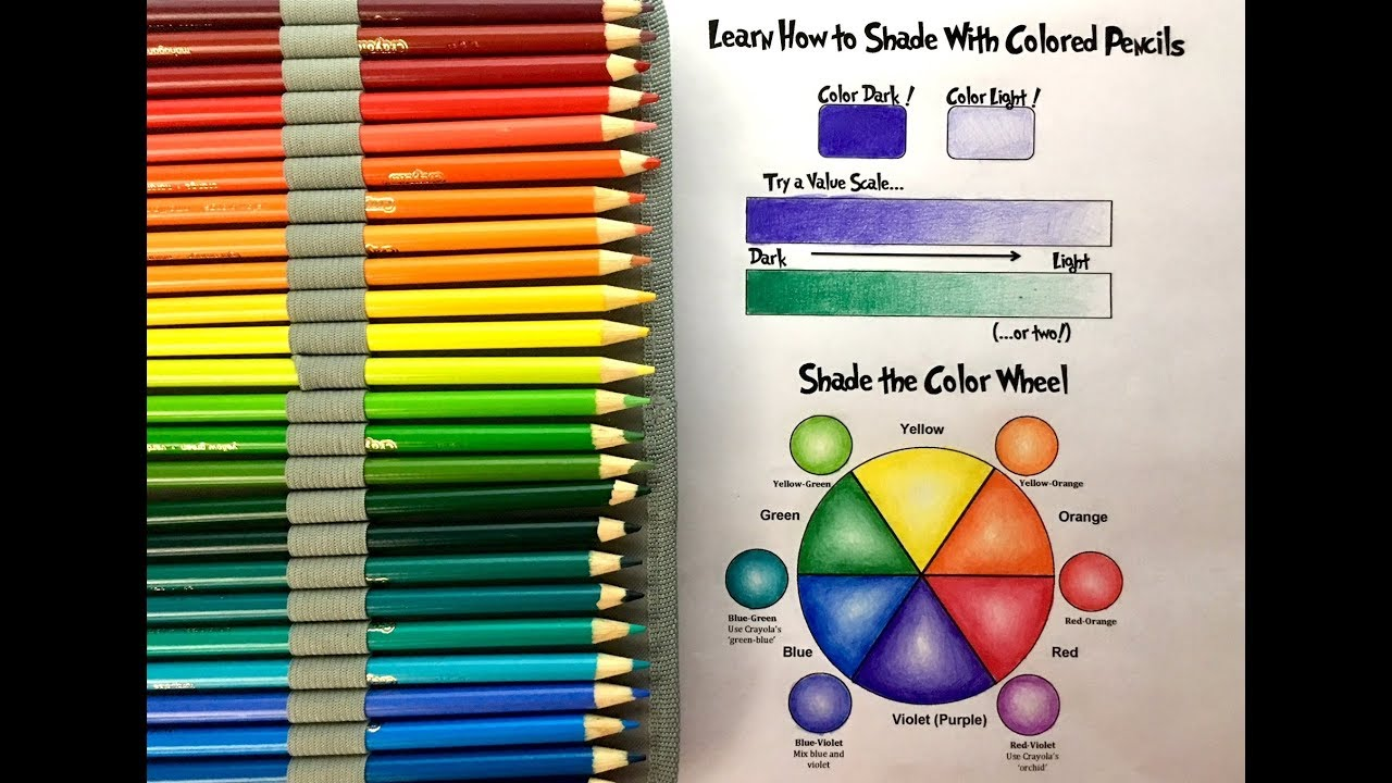 Getting the Most Out of Crayola Colored Pencils: A Shading Tutorial ...