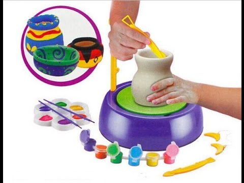 Pottery wheel toy - creativity for kidz