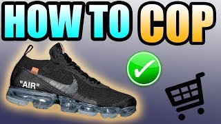 How To Get The BLACK OFF WHITE VAPOR MAX ! | NIKE X OFF WHITE VAPOR MAX Release Info !