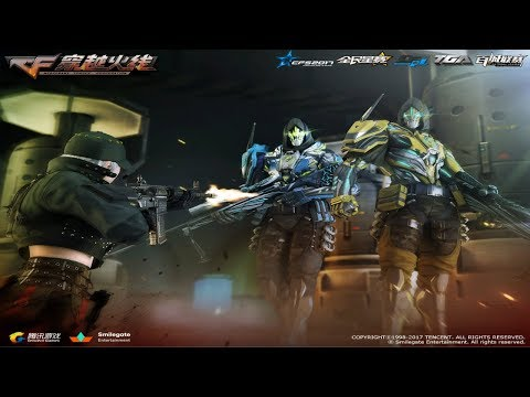 Cross Fire China || Upgraded Fatal Canyon, Attack Drone-Gold, Healing Point-Gold (Zombie Mode 3) !