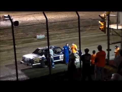 Weiner Racing at Clay County Speedway Feature Race 7-5-14