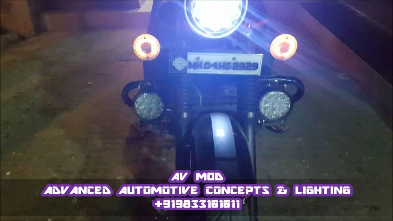 Bajaj Street 220 Fog Light By Avmod Youtube