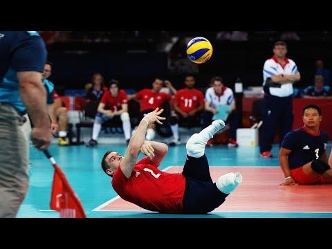 Sitting Volleyball • Amazing Skills (HD)