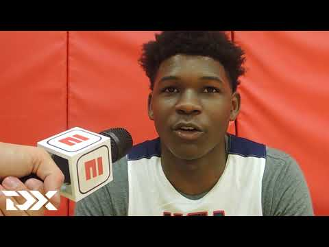 Anthony Edwards Full Interview USA Junior National Team Mini-Camp