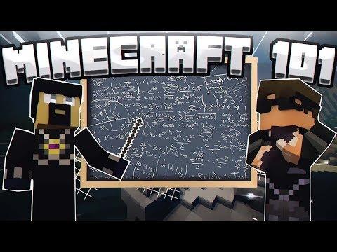 ANTVENOM TEACHES ME MINECRAFT AGAIN?!?! (Minecraft 101 EP 1)
