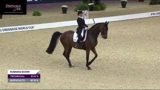 Isabell Werth and Emilio Win The Grand Prix Freestyle -84.4%