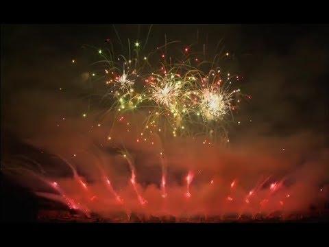 Hannover 2012 Team England Jubilee Fireworks