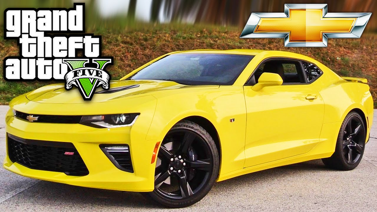 GTA V Chevrolet Camaro 2016 - YouTube