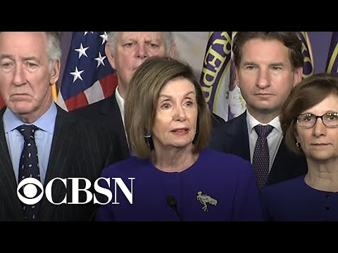 Democrats Announce U.S.-Mexico-Canada Trade Deal