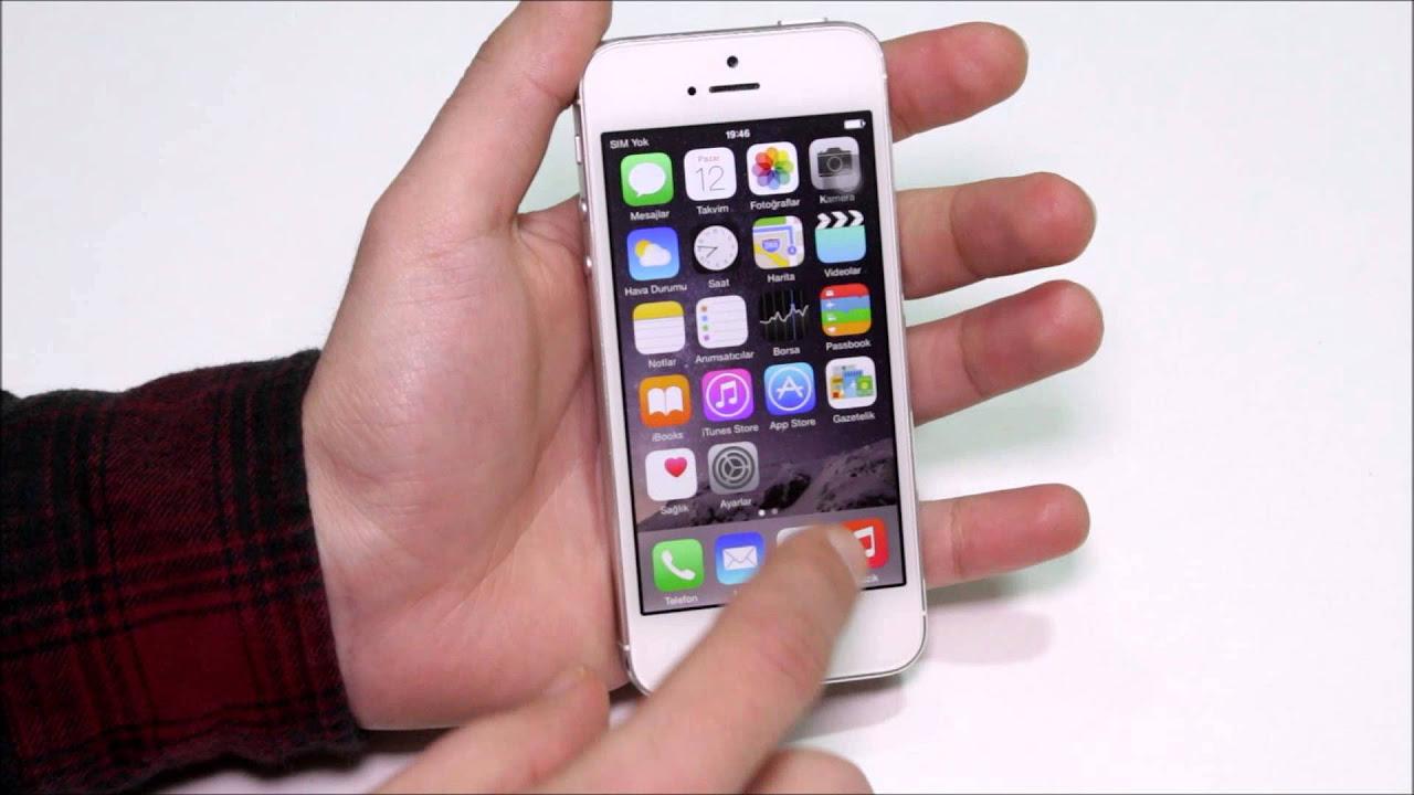Apple iPhone Modellerinde Uyarılar için LED Flaş Nasıl Açılır?