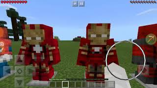 МСТИТЕЛИ В МАЙНКРАФТ ВОЙНА БЕСКОНЕЧНОСТИ Мод Marvel Heroes в Minecraft