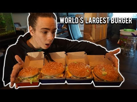 World's Largest Burger!!