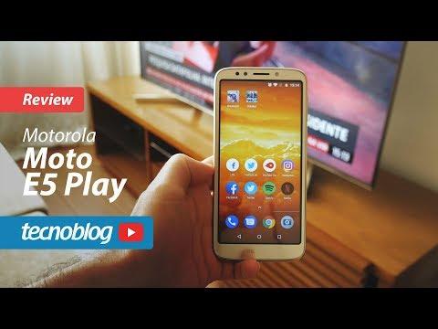 Moto E5 Play - Review Tecnoblog