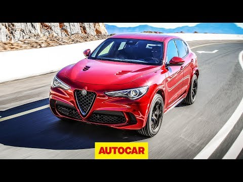 2018 Alfa Romeo Stelvio Quadrifoglio - New 503bhp Hot SUV review   Autocar