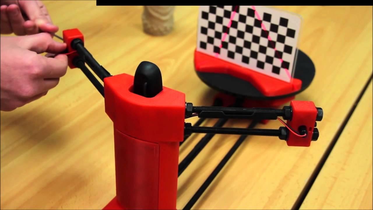Calibrando el escáner 3D Ciclop de BQ