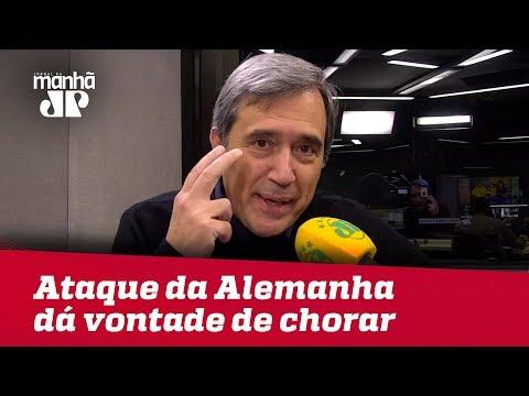 Ataque Da Alemanha Dá Vontade De Chorar   Marco Antonio Villa