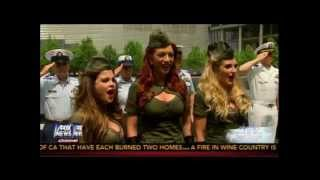 "American Bombshells Fox News ""Proud Americans"" segment"