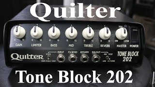 Quilter Tone Block 202 demo by Shawn Tubbs