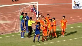 SAG FOOTBALL BHUTAN VS MALDIVS HIGHLIGHTS