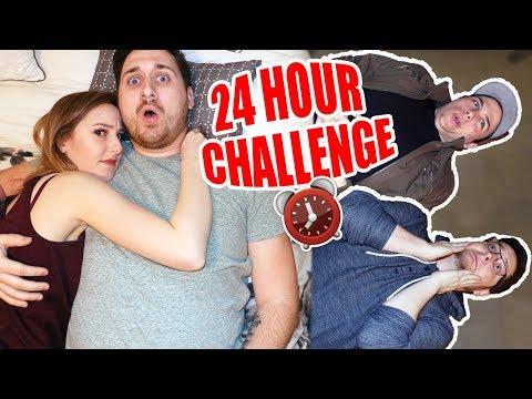 HIDING IN AVIATORGAMINGS MILLION DOLLAR MANSION! 24 HOUR CHALLENGE