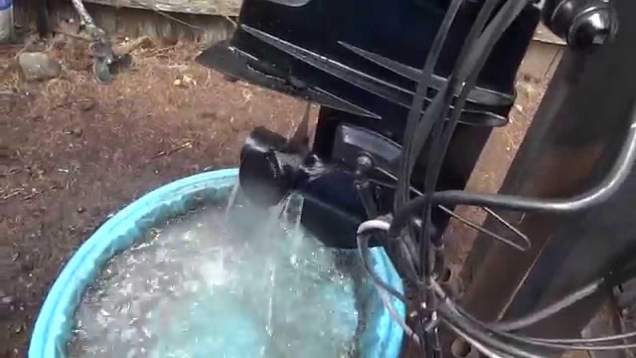 mercury 500 50hp thunderbolt outboard [ 1280 x 720 Pixel ]