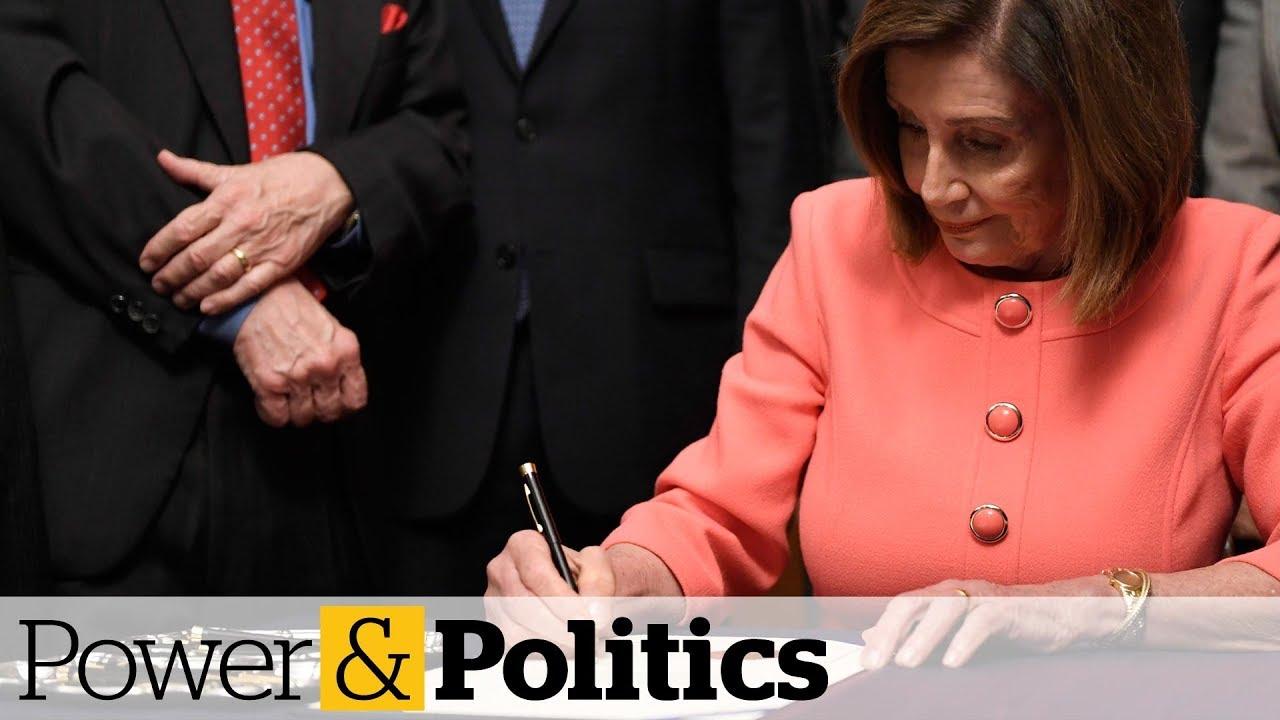 Trump impeachment articles head to U.S. Senate | Power & Politics