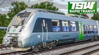 TRAIN SIM WORLD Rapid Transit #3: Von Bitterfeld Richtung Leipzig | TSW deutsch