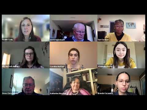 Virtual 2021 Student Poster Session on Religion, Ethics, and World Affairs - Roundtable 1