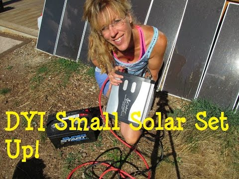 DIY Solar Panel System: Small Affordable Set Up