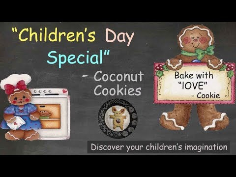 Children's day special recipe | Homemade eggless Coconut cookie