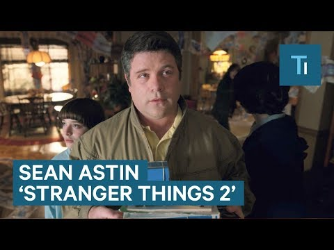 Sean Astin Talks About The Demodogs  From 'Stranger Things 2'