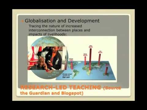 Geography and Global Change